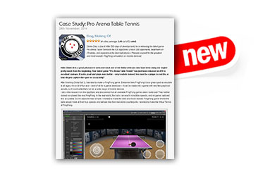 Case Study Pro Arena Table Tennis
